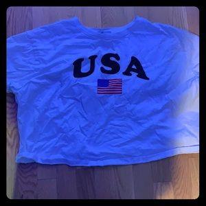 Forever 21 USA girl Croptop
